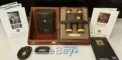 1 Fernglas ZEISS 10x40 B T P GOLD DIALYT CLASSIC Limited Edition Binoculars Neu