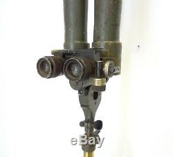 Antique Carl Zeiss Trench Binoculars Periscope With Tripod Wwii Field Military