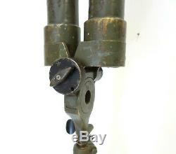 Antique Carl Zeiss Trench Binoculars Periscope Wwii Field Military