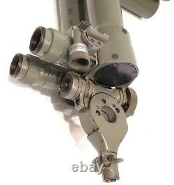 Antique Wwii Carl Zeiss Trench Binoculars Donkey Ears Military Field Working See