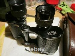 CARL ZEISS I/F DELTRENTIS 8x30 BINOCULARS WITH MILITARY SIGHT