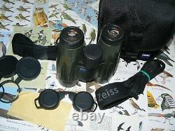 CARL ZEISS VICTORY FL T 8 x 42 ROOF PRISM BINOCULARS GREEN -RARELY AVAILABLE