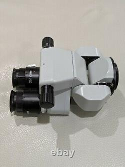 Carl Zeiss 0-180deg Inclinable Binocular with 10x Eyepiece for OPMI Sur Microscope