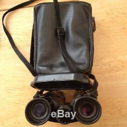 Carl Zeiss 10x40 B West German binoculars with carry case perfect optics