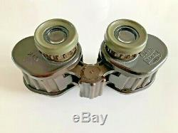 Carl Zeiss 6x30B M63 military binoculars used by the Danish Army