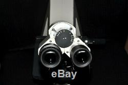Carl Zeiss Axiostar Microscope with5x, 10x, 40x, 100x & Abbe Condenser