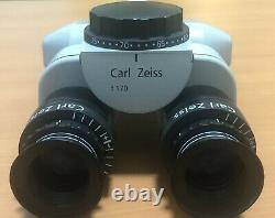 Carl Zeiss F-170 0-180 degree Inclinable Binoculars 12.5x Magnetic Eyepiece