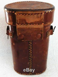 Carl Zeiss Jena vintage monocular 6x leather case Callaghan & Co First World War