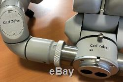 Carl Zeiss Microscope F170 Binoculars 12.5X Eyepieces Surgical System (MUST SEE)