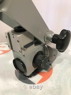 Carl Zeiss OPMI 1 Surgical Microscope with f400 lens & fiberoptic cable