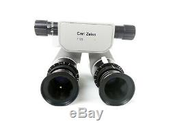 Carl Zeiss OPMI SURGICAL MICROSCOPE 180° BINOCULARS f=170 T with 12,5x EYEPIECES