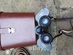 Carl zeiss binoculars DDR Jena 10x50 opened but never used A968