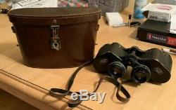 Deltarem Carl Zeiss Jena 8x40 Binoculars WWII Military Wideview Aerial with case