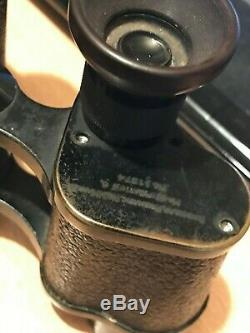 Extremely Rare Wwi Carl Zeiss Military Binoculars Dated 1916, Free Uk Postage