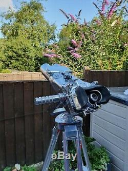 German WW2 12x60 Carl Zeiss Flak binoculars blc on a metal Tripod Flakfernrohr