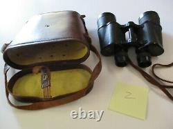 Vintage Antique Binoculars Collection Mostly Carl Zeiss German Lot With Bags
