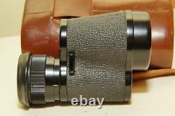 Vintage CARL ZEISS 8X30B MONOCLE MONOCULAR With LEATHER CASE German -M94