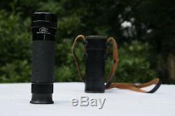Vintage CARL ZEISS 8 x 30B MONOCULAR with ORIGINAL Leather Case