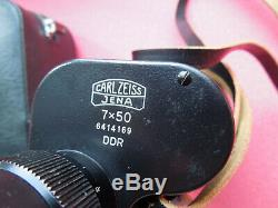 Vintage RARE MONOCULAR Carl ZEISS 7 X 50 excellent OPTIC & SHAPE! GERMANY