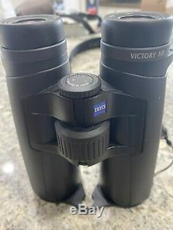 Zeiss Victory HT 10 X 42 Binoculars, excellent condition with strap and case